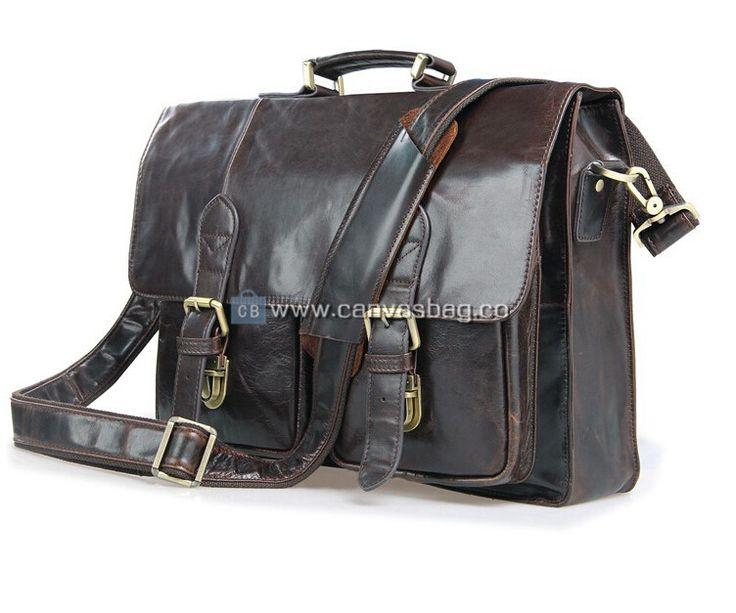 25  best Mens leather laptop bag ideas on Pinterest   Leather ...