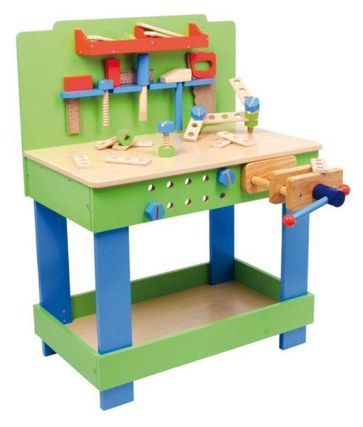 Kinder werkbank Federico - Donk-ToyShop