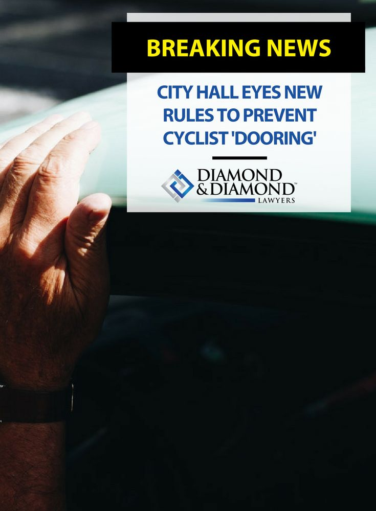 There were 209 reported cyclist #doorings in 2016. A new motion proposes new #DriverEducation to prevent doorings, and for more driver liability if a cyclist is hit by a passenger's door.
