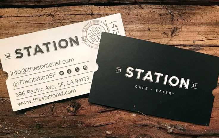 Make an impression with the shape of your business cards with die cutting like The Station SF did with their creative train ticket style, celebrating days past when pro cyclists where shuttled to stages of a race via the rail system in Europe.