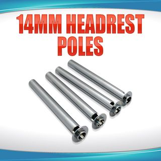 14mm Headrest Poles