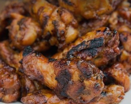 The Best Grilled Root Beer Chicken Wings Ever!