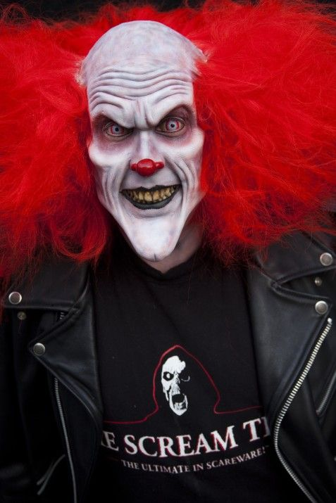 The Clown | Evil Clown Foam Latex Prosthetic | Halloween Masks? Better | The Scream Team