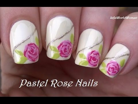 TOOTHPICK NAIL ART #17 - SNOWMAN Nails For Holidays! - YouTube