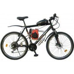 Bicicleta Motorizada 49cc 4 Tempos - Quadro de Alumínio