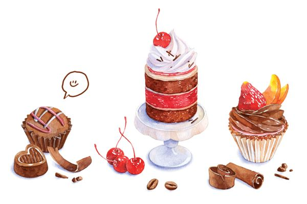 bakery | 2013 by Natalia Tyulkina, via Behance