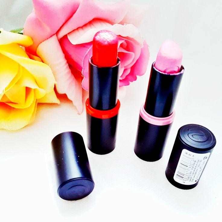 Essence Lippenstift Nummer 02 & Nummer 20