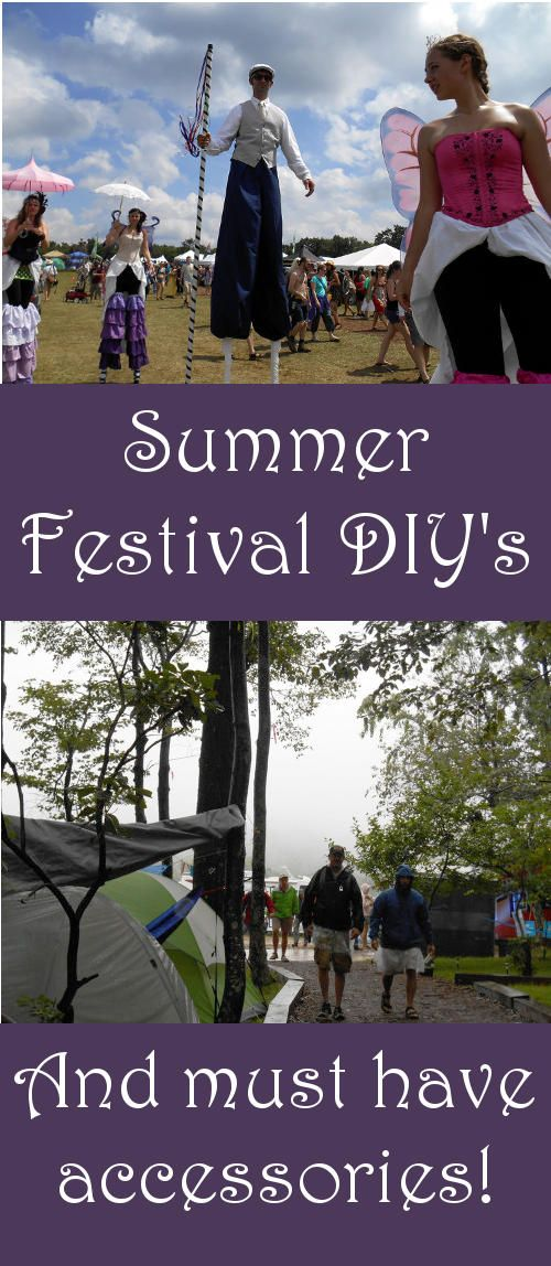 These must have festival accessories and summer festival DIY's are sure to make your festival experience this year even better! Summer festival DIY's include recipes for making your own homemade festival soap, insect repellent and dry shampoo!