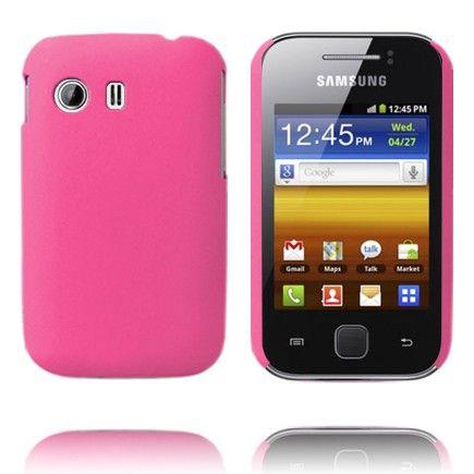 Hard Shell (Vaaleanpunainen) Samsung Galaxy Y Suojakuori