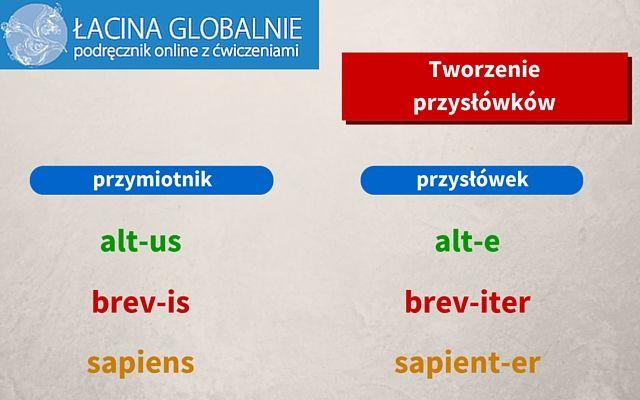 #łacina #gramatyka #przysłówek #stopniowanie http://lacina.globalnie.com.pl/lacina-stopniowanie-przyslowkow/