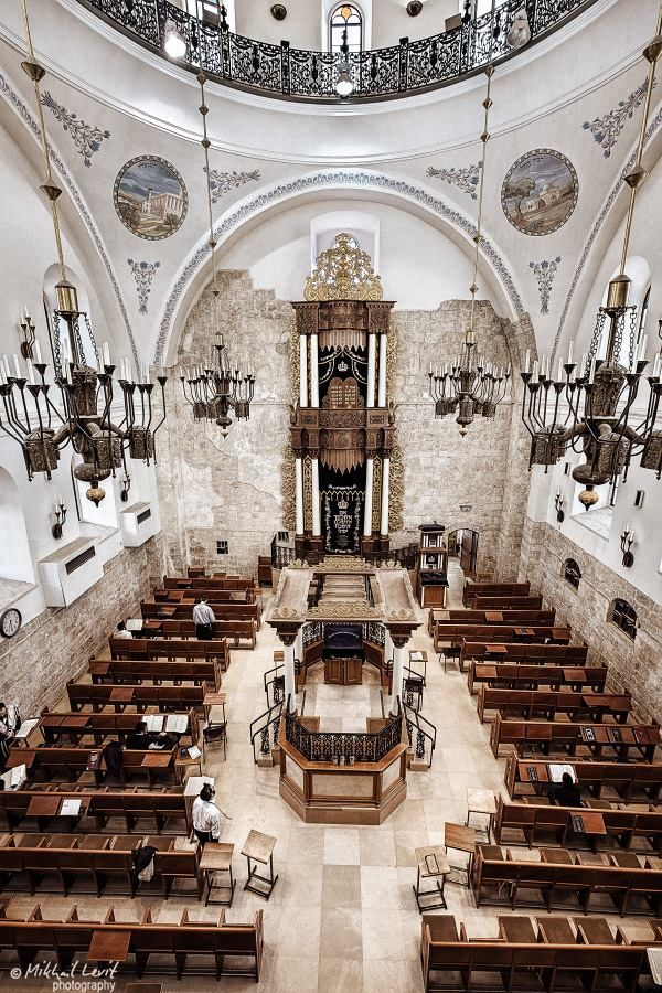 Hurva Synagogue, Jerusalem
