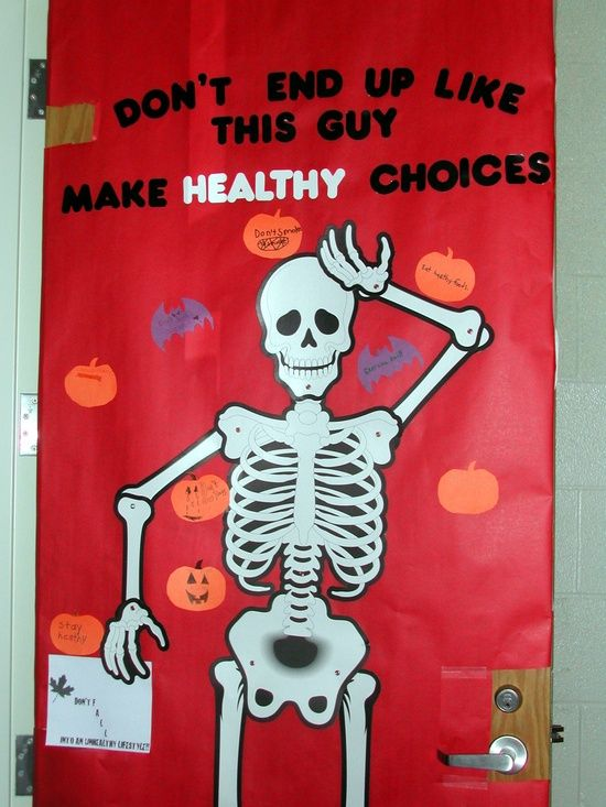 Make Healthy Choices Door Decoration & healthy how to decorate white closet doors | Roselawnlutheran pezcame.com