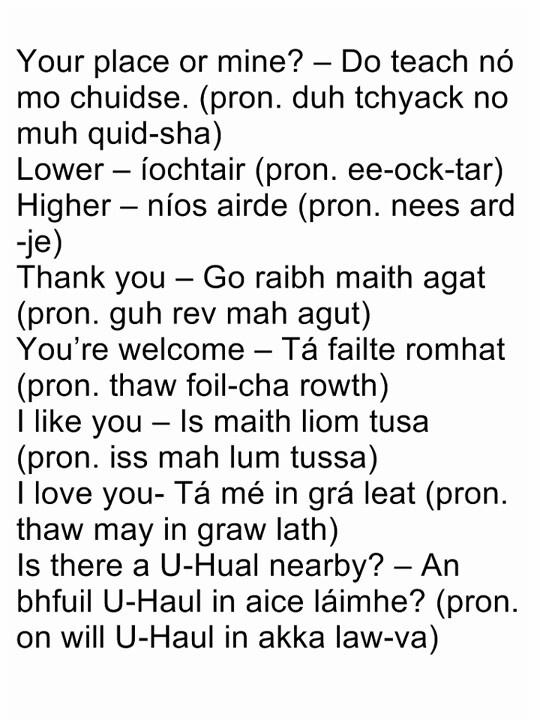 Gaelic - Lineage
