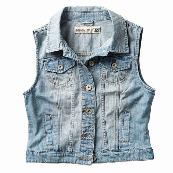 Just Jeans   Sleeveless Denim Jacket   $69.99