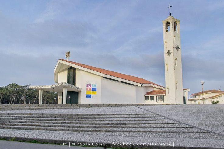 Igreja do Furadouro / Iglesia de Furadouro / Furadouro Church [2015 - Furadouro - Portugal] #fotografia #fotografias #photography #foto #fotos #photo #photos #local #locais #locals #cidade #cidades #ciudad #ciudades #city #cities #europa #europe #tourism #igrejas #iglesias #churches #arquitectura #architecture @Visit Portugal @ePortugal