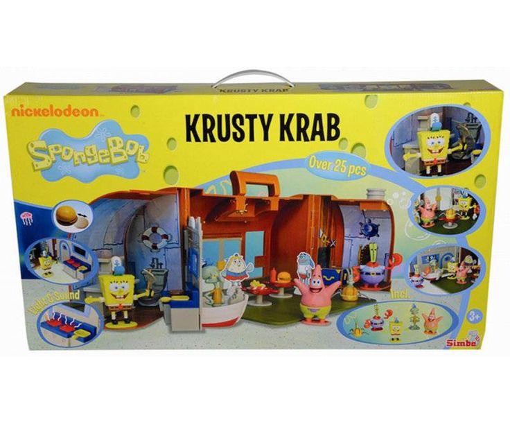 Spongebob - Krusty Krab Speelset #speelgoed #spongebob #squarepants #meneerkrabs