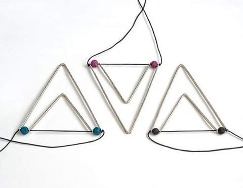 Striking Geometry #jewellery #handmade #datu_workshop #geometry #triangle #style