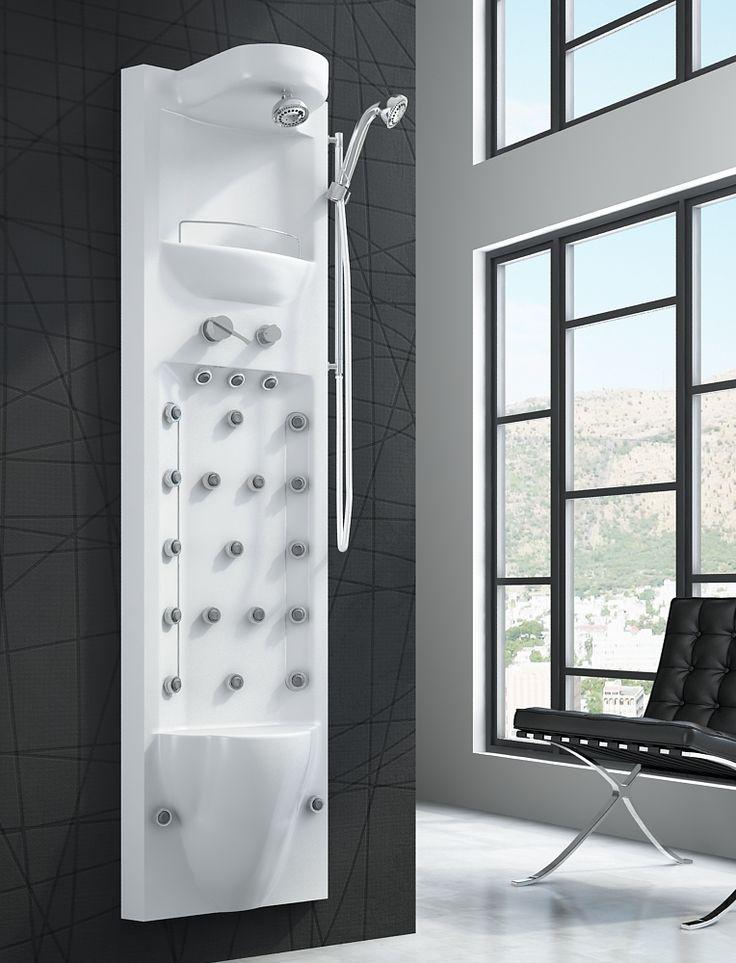 Renueva y equipa tu baño, crea un espacio de ducha para el relax y pon una columna de hidromasaje.
