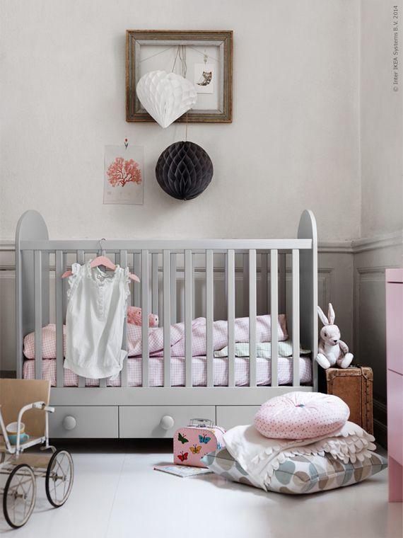 ikea spjälsäng godnatt baby inredning inspireramera inspirera mera inspiration