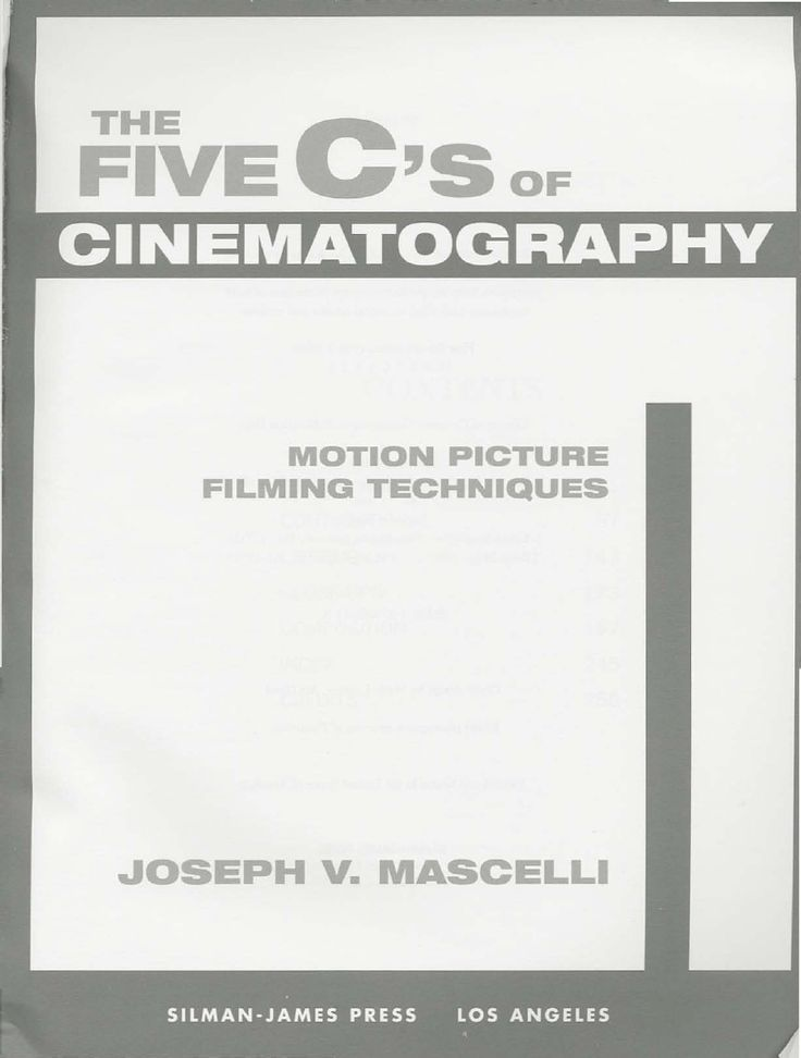 This is one of the most respected books on filmmaking ever published. With the aid of hundreds of photographs and diagrams, it clearly and concisely presents the essential concepts and techniques of motion picture camerawork and the allied areas of film making that they interact and impact with. http://cinephilearchive.tumblr.com/post/37904497111