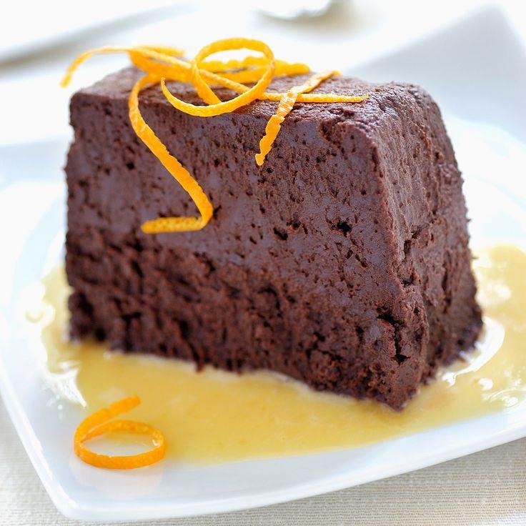 Découvrez la recette Fondant chocolat et orange sur cuisineactuelle.fr.