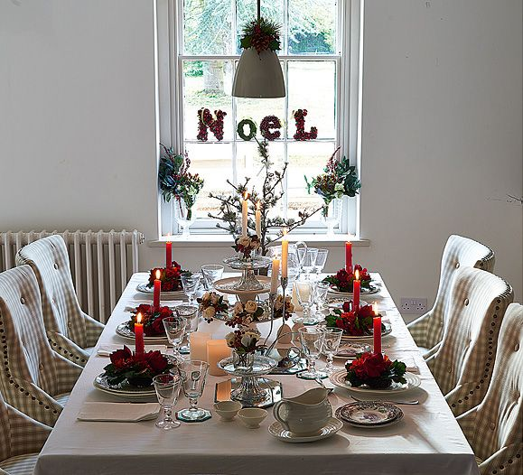 How To Perfect Your Christmas Table Decorations  CnNzLTAtNUIyZmRh: 88 Best Images About Décoration De Table On Pinterest