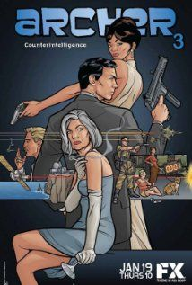 Archer (TV Series 2009– ) - At ISIS, an international spy agency, global crises are merely opportunities for its highly trained employees to confuse, undermine, betray and royally screw each other.