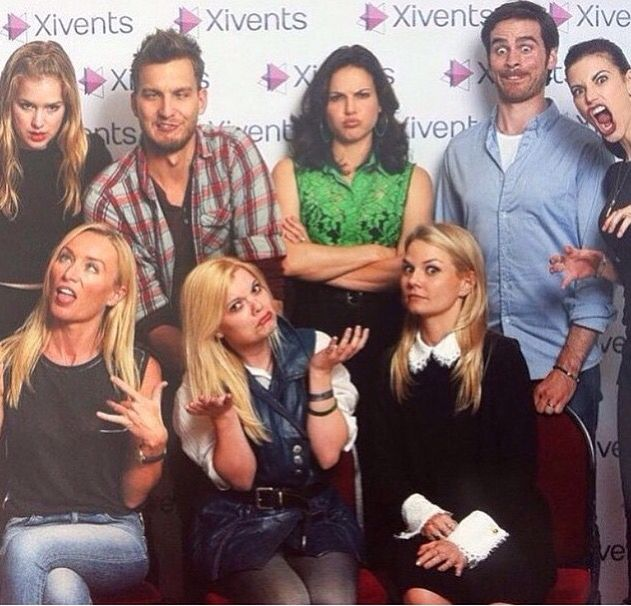 I had a neutral expression.......UNTIL I SAW COLIN'S FACE!!!!!!!!!