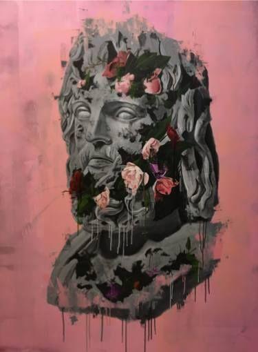 "Saatchi Art Artist sage -; Painting, ""RUINS #2"" #art"