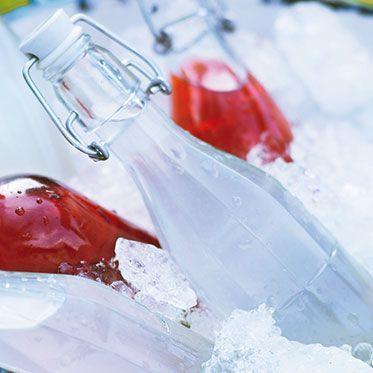 Zitrus-Minze-Sirup ‒ säuerlich und aromastark Rezept   Küchengötter