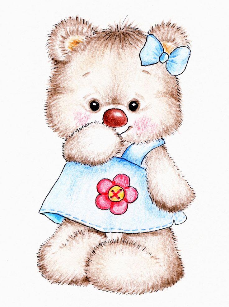 красивые картинки медвежат мультяшных животные