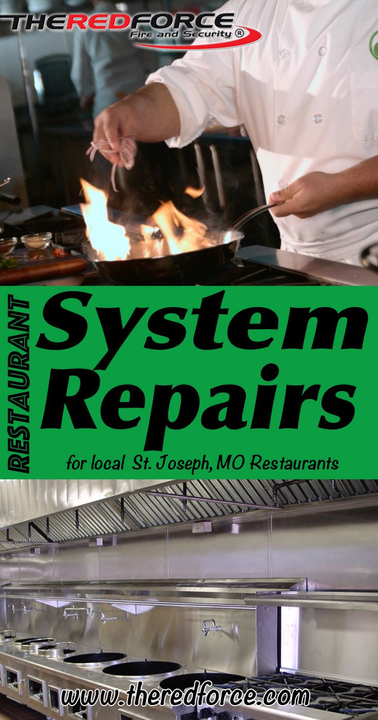 Restaurant Fire System Installations St. Joseph,  MO (816) 833-8822.. Local Missouri Businesses you have found the complete source for Restaurant Systems.Design, Installation, and Inspections.. We're got you covered.. The Red Force Fire and Security.. Experts ready to help you.