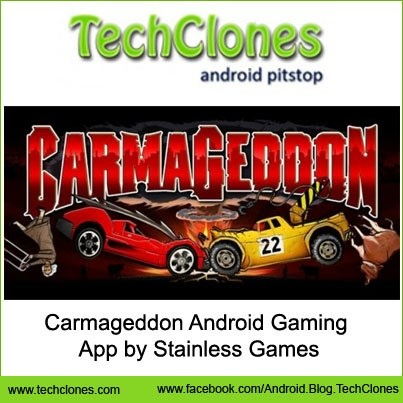 Carmageddon Android Gaming App by Stainless Games.