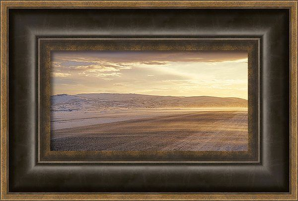 Beautiful Framed Print featuring the photograph Golden Road by Zina Zinchik