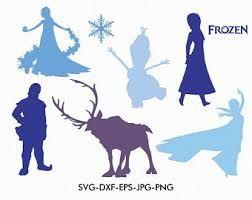 Best 25 Frozen Silhouette Ideas On Pinterest Disney