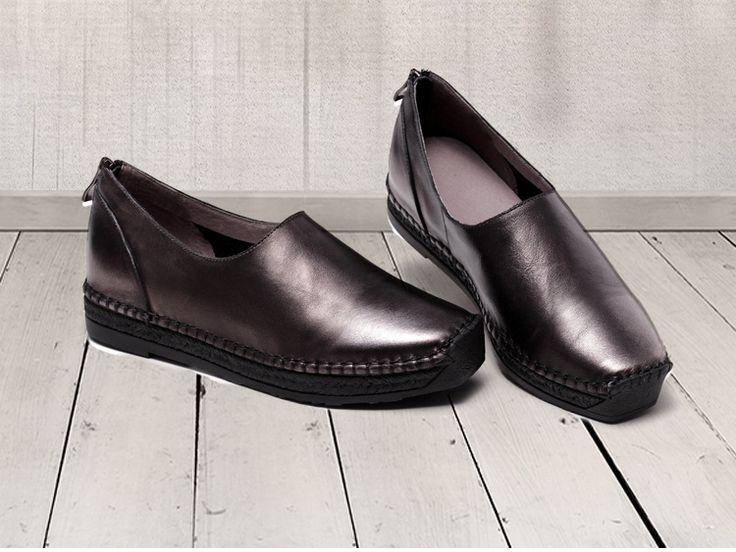 Aliexpress.com: Acheter 2016 fond Mou tout allumette printemps et automne fond plat en cuir véritable chaussures casual confortable à la main femmes chaussures 903 11 de salle de chaussures chaussures fiable fournisseurs sur Dream Girl House Store