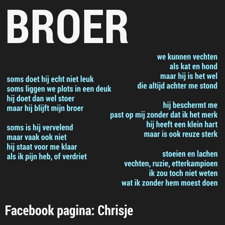 Citaten Broer En Zus : Beste ideeën over broer citaten op pinterest