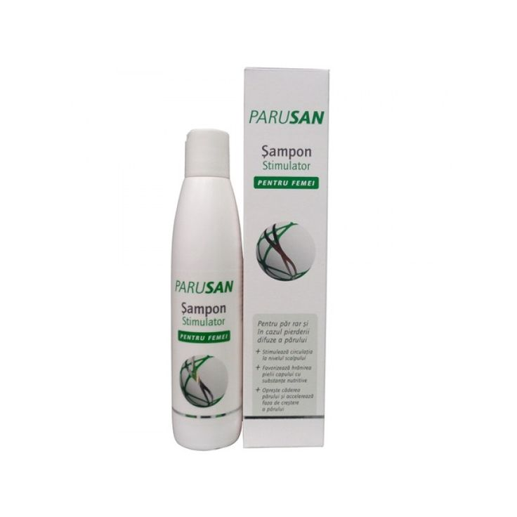 PARUSAN Stimulátor šampón - Výživný vlasový šampón pre ženy, ktorý dodáva špeciálne koncentrované živiny vlasovej pokožke až ku korienkom vlasov.