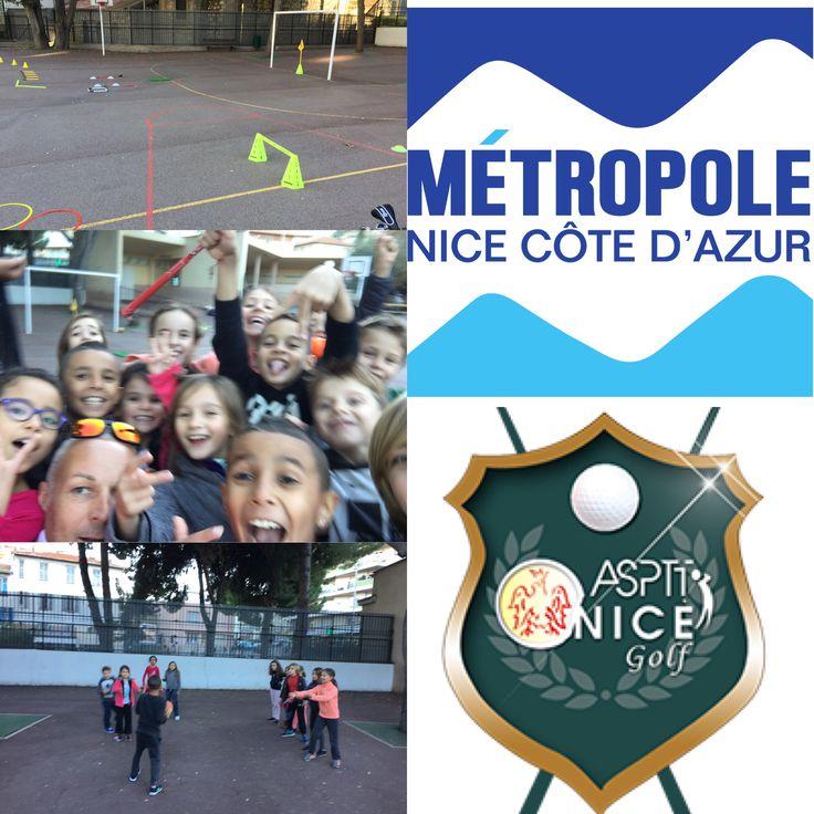 LANCEMENT du golf scolaire Métropole de Nice  - Asptt Nice - 2S golf