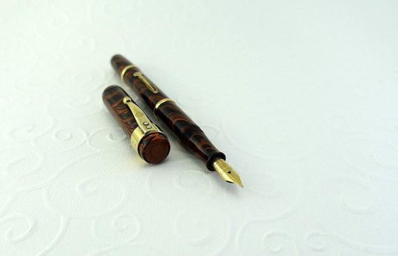 Waterman's Ideal 52 Fine Flexible 1920's par FountainPenRebirth