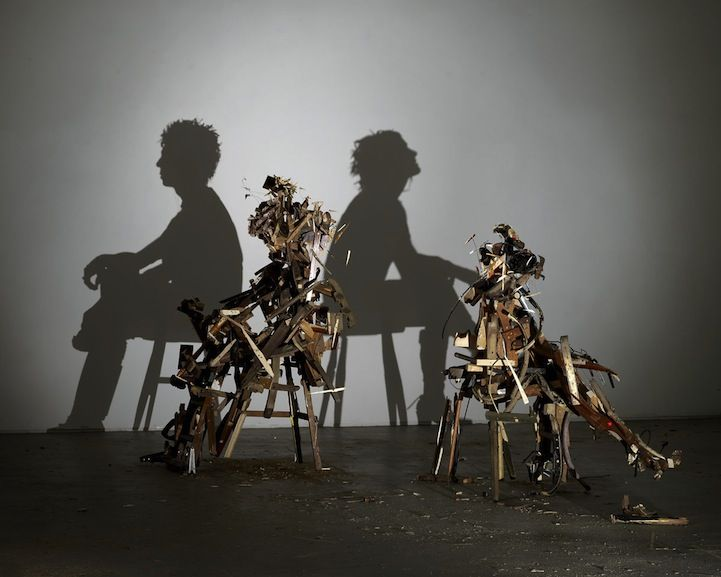 Shadow Sculptures   Tim Noble & Sue Webster