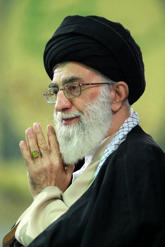 """Supreme Leader of Iran Offers to Help Obama and GOP Ignore America's Best Interests! Iran's Supreme Leader, Ali Khamenei, wanting to act as mediator because GOPs' """"continuing hostilities are a threat to world peace,"""" said following Republicans' """"worrisome letter,"""" that """"as a result, Iran feels it must offer itself as a peacemaker."""" Who better to act in America's best interest as a """"peacemaker"""" and help Obama sort out an agreement between the two countries, than the leader of a country known…"""