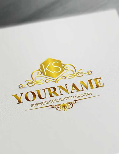 Free Logo Creator Online Elegant Logo Maker #LogoMaker, #logodesign