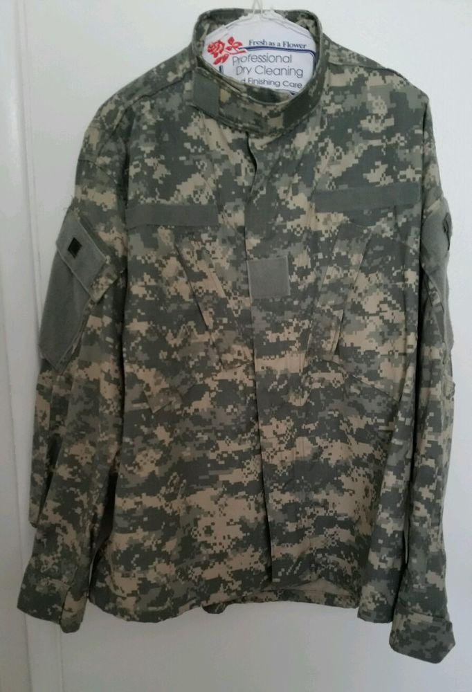 Coat, Flame Resistant Army Combat Uniform SPM100-05-D-0406 size Medium- Short #AmericanApparelInc