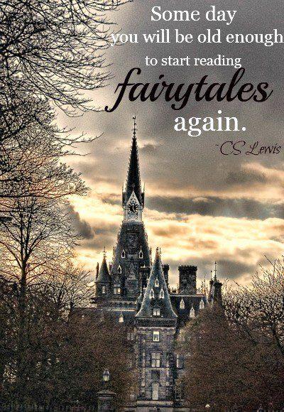 "C. S. Lewis ""fairytales"""
