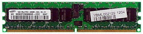 345113-051 1gb Ddr 400mhz Pc2-3200 240-Pin Ecc Registered Dimm Memory