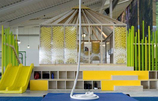 Interior Decorating Circus School Design by Marianne Amodio - circus school interior Photos