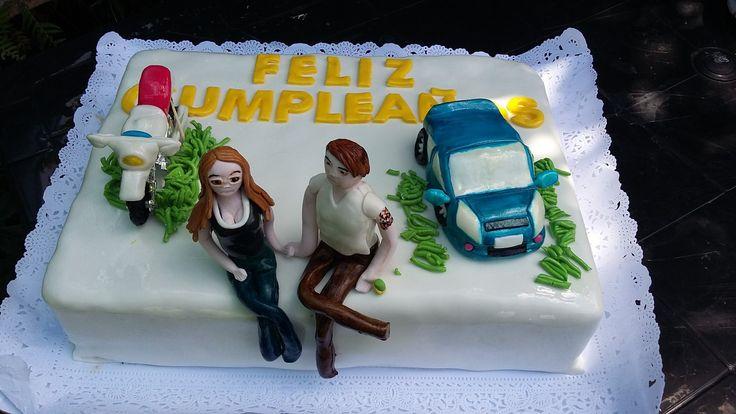 Torta pareja