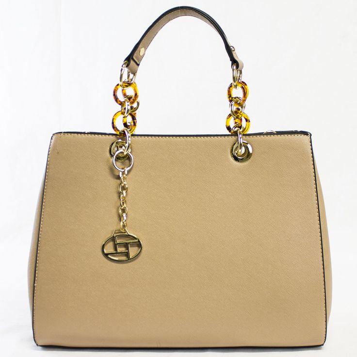 Manhattan Structured Satchel | Discount Purses | Handbag Heaven