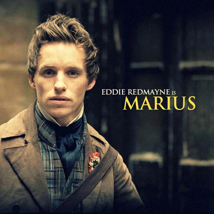 Marius/Eddie Redmayne - Les Miserables         Pin…